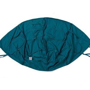 Globo green cushion cover