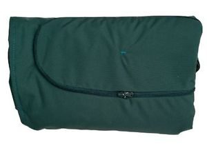 globo royal green weatherproof cushion cover