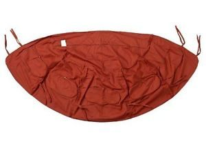 globo royal terracotta cushion cover
